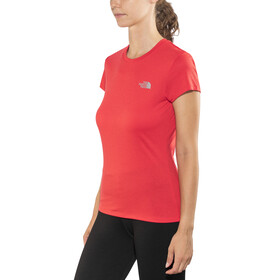 The North Face Reaxion Ampere t-shirt Dames rood